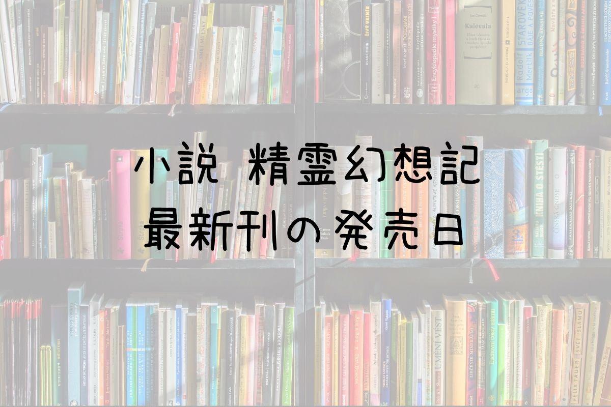 小説 精霊幻想記 21巻 発売日