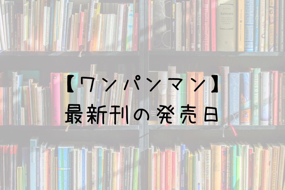 ワンパンマン 24巻 発売日
