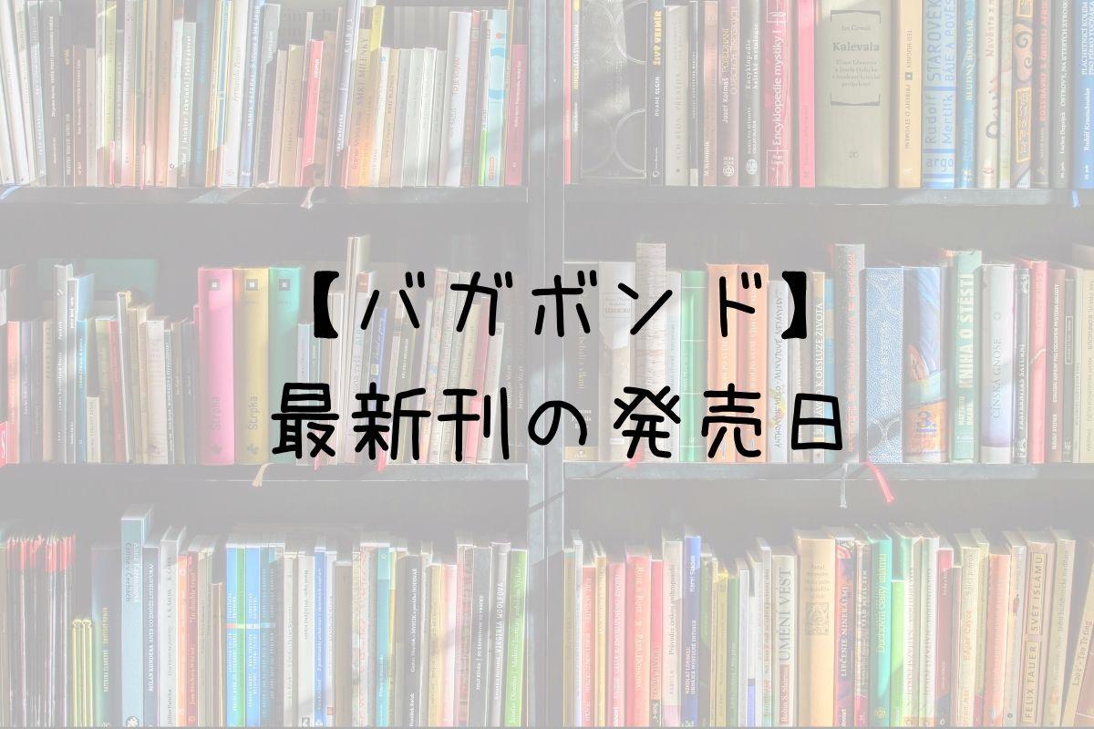 バガボンド 38巻 発売日